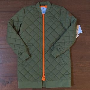 NWT Element Bomber Long Jacket